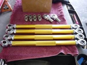 Ford Escort Tubular rear control arms