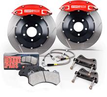 Ford Fiesta ST Piercemotorsports Stoptech Big Brake Kit BBK