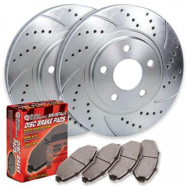 2013-2016 Nissan Versa Note Performance Brake Rotors