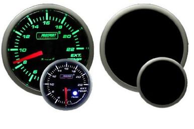 PROSPORT 52mm Premium Exhaust Gas Temperature Gauge (EGT)