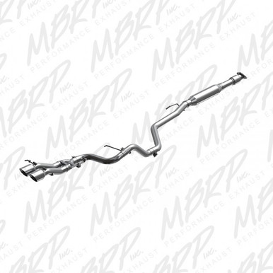 2013-2018 Veloster Turbo MBRP S4701304 T304 Catback with Dual Tips