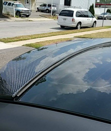Veloster Turbo Carbon Fiber Replacement Spoiler