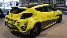 Hyundai Veloster EGR Carbon Fiber Widebody Kit
