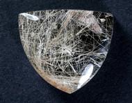 Fantastic! Rutilated Quartz Cabochon -w- Golden Needles #15149
