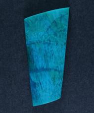 Deep Blue Sagenitic Chrysocolla Designer Cabochon  #15251