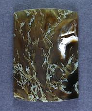 Gorgeous Lucky Strike Moss Carnelian Agate Cabochon  #15553