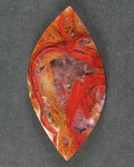 Dramatic Lavic Siding Jasper-Agate Designer Cabochon   #15748