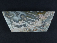 Intricate Mystery Tube Agate Cabochon  #15801