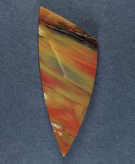 Colorful Arizona Rainbow Wood Designer Cabochon  #15905