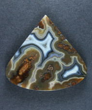 Gorgeous Turkish Plume Agate Collectors Cabochon  #17089