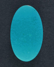 Bright Blue Arizona Gem Chrysocolla Designer Cabochon  #17144