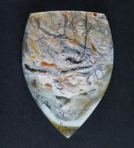 Amazing Chapenite Brecciated Jasper Cabochon   #17146