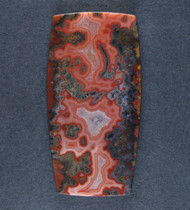 Gorgeous Moroccan Agate Plume Designer Cabochon  #17215