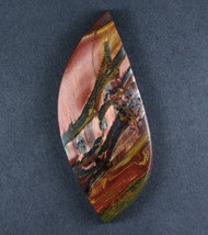 Dramatic Marra Mamba  Cabochon-  Copper Red and Yellow  #17303
