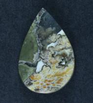 Amazing Priday Plume Agate Designer Cabochon  #17403