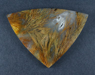 Gorgeous Designer Cabochon of Nipomo Sagenite Agate  #17419