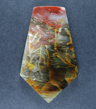 Gorgeous Grassy Mtn. Petrified Wood Designer Cabochon  #17431