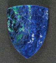 Blue Azurite and Malachite Cabochon  #17452
