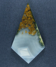 Gorgeous Lucky Strike Moss Plume Agate Cabochon-  #17510
