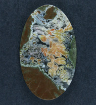 Amazing Priday Plume Agate Designer Cabochon  #17532