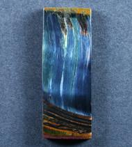 Dramatic Marra Mamba  Cabochon -  Rare Copper Red, Cobalt Blue  #17540