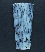 Exceptional Snake River Dendritic Agate Cabochon  #17549