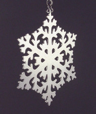 Handmade Sterling Silver Ornament ornsnowflake