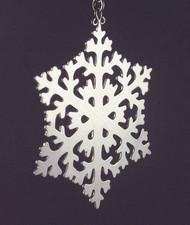 Handmade Sterling Silver Ornament ornsnowflake