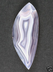 Gorgeous Indonesian Purple Banded Agate Cabochon 10852