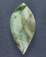 Gorgeous Green Spiderweb Imperial Jasper Cabochon 14365
