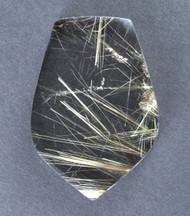 Fantastic! Rutilated Quartz Cabochon -w- Golden Needles 14139