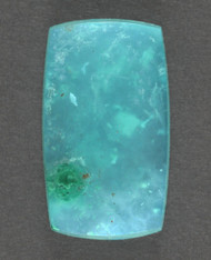 Bright Blue Gem Chrysocolla/Malachite in Agate Cabochon 13631