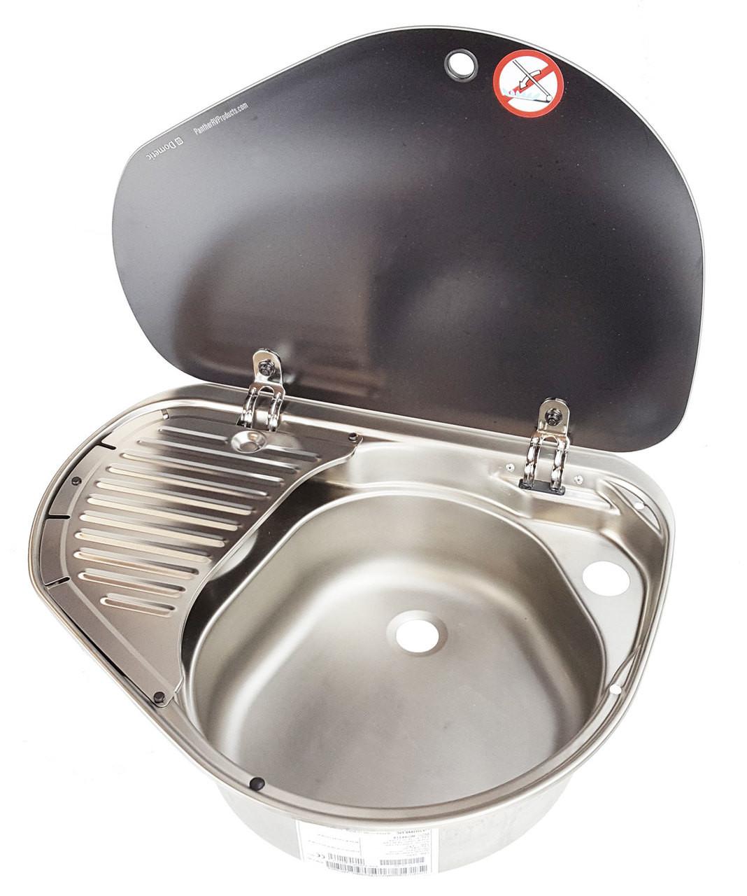 Smev Mo8821rus 1 Burner Rv Marine Propane Cooktop W Sink