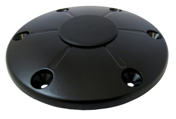 ITC TS5020-B-DB Redwood Black Floor Base with Cap