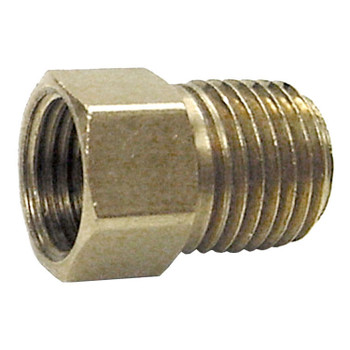 "Marshall ME2132 Propane Adapter Fitting 1/4"" Invertedx 1/4"" MNPT"