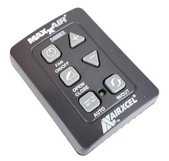 Maxxair 00A03650K 6 Button Remote Control for Maxxfan Plus and Deluxe -Black