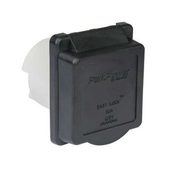 ParkPower 30ARVIB Weekender Electrical Inlet - 30 Amp - Black