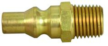 "07-30445 Brass Quick Disconnect 1/4"" Male NPT"