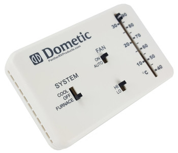 Dometic 3106995.032 Thermostat 6-Wire Analog Control Heat/Cool