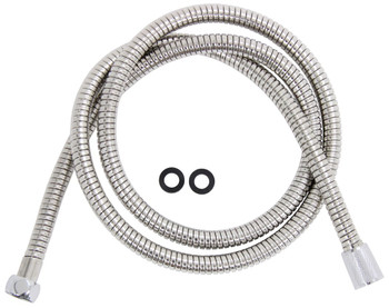 "Camco 43716 Replacement Flexible Showerhead Hose 60"" - Chrome"