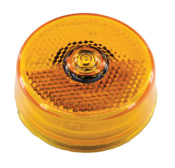 ECO 140065A LED Marker / Clearance Round Light - Amber