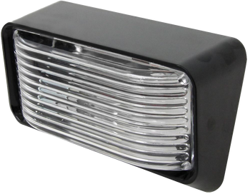 ECO P500C Standard RV Exterior Porch / Utility Light - Black - Incandescent  sc 1 st  Panther RV Products & Vehicle Type - Vintage Travel Trailers - Bigfoot Trailer Parts ... azcodes.com