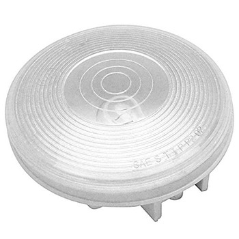 "ECO 1T-L4C Trailer Back Up Light 4"" Round - White 2 Prong"