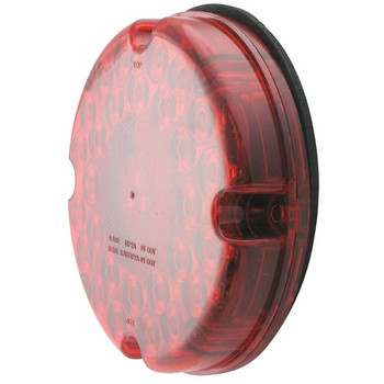 "Kaper II 1T-L24R Transit LED 7"" Round Bus Light 31 Diode"