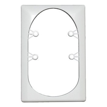ECO 120096 Single Light Retrofit Bezel for Square Replacement