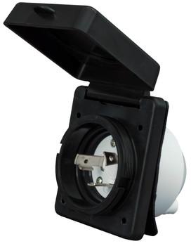 Valterra A10-30INBKVP Standard Power Inlet 30A / 125V - Black