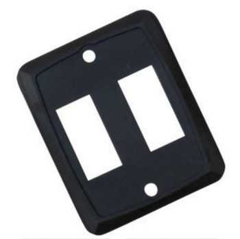Diamond P7215 Face Plate for use with Switches - Double Black