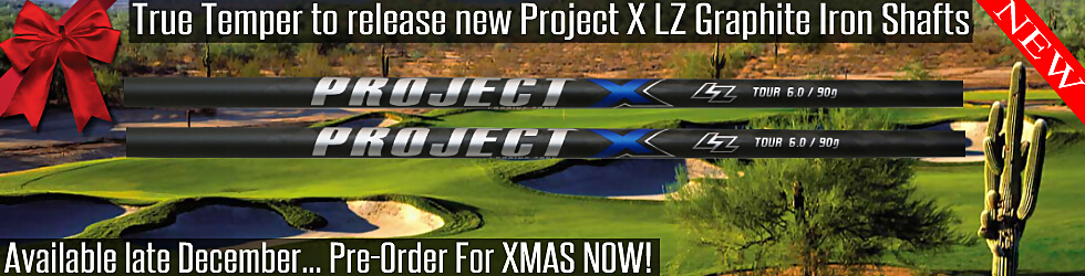 Project X LZ Graphite Iron Shafts