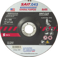 https://d3d71ba2asa5oz.cloudfront.net/32001042/images/sait-22047-a60s-general-purpose-high-speed-cut-off-wheels-front.jpg