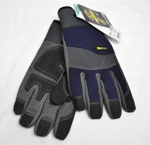 Black Stallion ToolHandz GW103 Fleece Lined Synthetic Leather Winter Gloves, LG